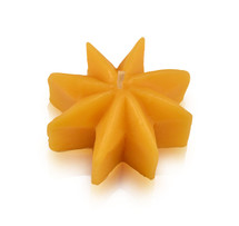 Rustic Star Floating Beeswax Candle
