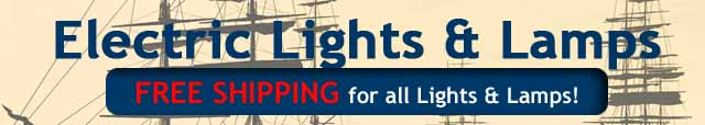 Nautical Electric Lights & Lamps