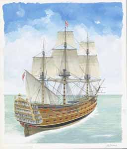 HMS Victory 1737