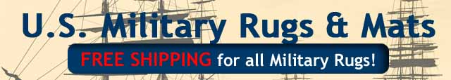 USA Military Logo Rugs & Mats