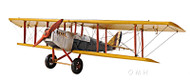 Curtis JN-7H Jenny Barnstormer Biplane Metal Model