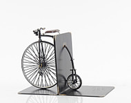 High Wheeler Penny Farthing Bicycle Metal Bookend Model