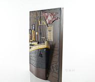 Titanic Ocean Liner Bow 3D Metal Model Painting
