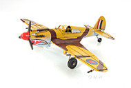 Curtiss 81A Hawk P-40B Warhawk Metal Desk Model