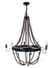Nautical Rope Pendant Hanging Lamp Chandelier Lighting
