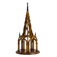 Nirvana Spire Architectural 3D Wooden Model Spiral Belltower