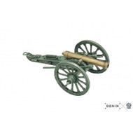 "Scale Model Replica Cannon US Civil War Artillery 7"" Army 1861"