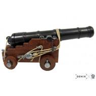 Naval Cannon Model 18th Century British 1800