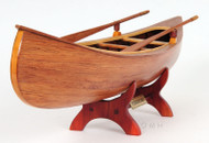 Canadian Peterborough Canoe Wooden Model Built Boat
