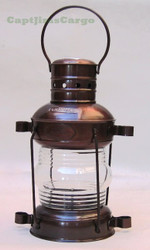 Metal Anchor Lantern Oil Lamp Fresnel Lens