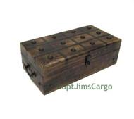 Pirate Treasure Chest Nautical Storage Keepsake Box