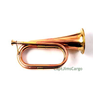 Brass Copper Bugle Decorative Navy Military Nautical Gift