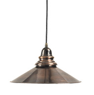 Savannah Hanging French Lamp Brass Ceiling Light