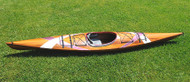 Cedar Wood Strip Kayak Stripes Woodenboat USA