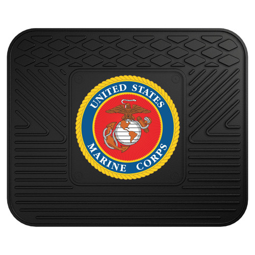 US Marine Corps USMC Logo Workbench Car SUV Mat