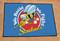 US Navy Seabees Logo Starter Rug Door Mat