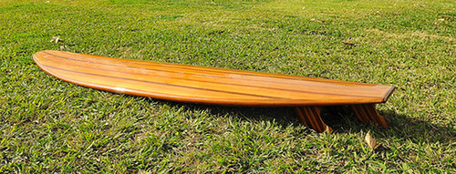 Cedar Surfboard Long Board Hollow Epoxy Fiberglass