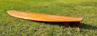 Cedar Surfboard Long Board Hollow Epoxy Fiberglass