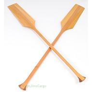Handcrafted Cedar Mahogany Canoe Paddles Wooden Decor