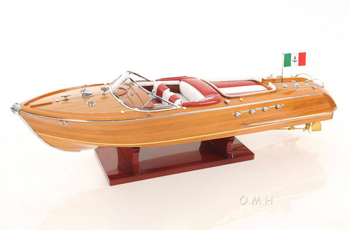 Riva Aquarama Speed Boat Wooden Scale Model