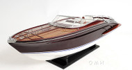 Riva 44 Rivarama Speed Boat Wooden Scale Model