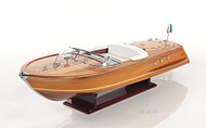 Riva Ariston Speed Boat Wooden Scale Model