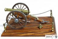 Civil War Cannon 12 Pounder Metal Model USA 1857
