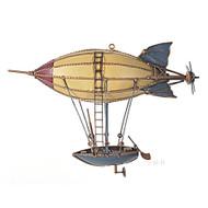 Steampunk Airship Model Metal Hot Air Balloon