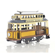 Trolley Streetcar Municipal Railway Cable Car Metal Model