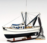 Gulf Shrimp Trawler Louisiana Work Boat Model