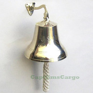 US NAVY Decorative Solid Brass Ships Bell
