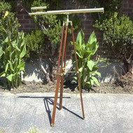 Griffith Astro Brass Refractor Telescope Floor Tripod Stand