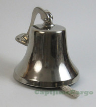 Aluminum Chrome Ships Bell Nautical Wall Decor