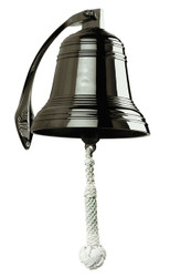 Solid Cast Brass Ships Bell Bronze Finish