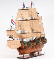Holland Frigate Friesland Wood Model Tall Ship
