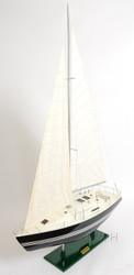 Victory Sailing Yacht Wooden Sailboat Model
