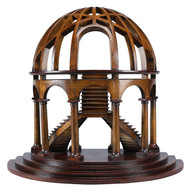 Demi-Dome Architectural 3D Wooden Model Dome