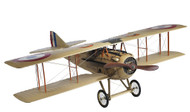 French Spad XIII Biplane Wooden Plane Model Airplane