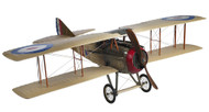 WWI Spad S XIII Biplane Wooden Model Airplane
