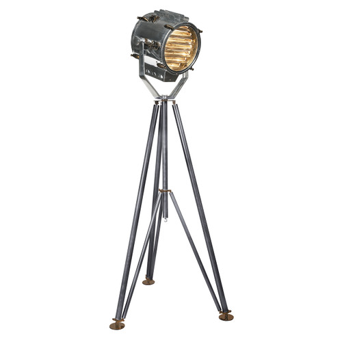 Marconi spotlight tripod signal floor lamp 77 navy ship 39 s captjimscargo - Tripod spotlight lamp ...