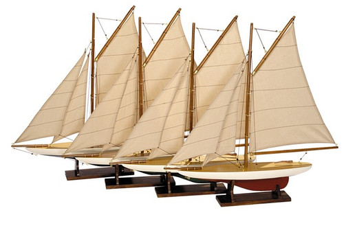 Mini Pond Yachts Set of 4 Models 20\