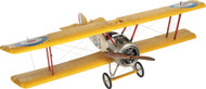 WW1 Sopwith Camel F.1 Biplane Wooden Model