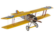 WWI Sopwith Camel British Biplane Wood Model