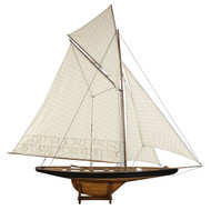 XL Columbia America's Cup Decorative Model Sailboat