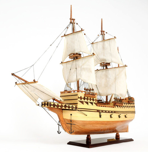 Mayflower 1620 Plymouth Pilgrim 39 S Wood Ship Model 31