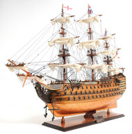 HMS Victory Copper Clad Bottom Ship Model
