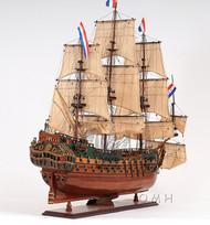 Holland Frigate Friesland Wood Tall Ship Model