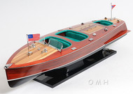 1938 Chris Craft Triple Cockpit Speed Boat Model