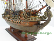 San Felipe Tall Ship Model Spanish Galleon