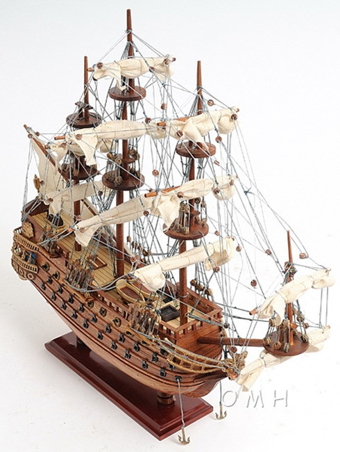 San Felipe Spanish Galleon Tall Ship Model